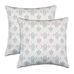 Chooty & Co. - Chooty and Co. Madison Bella-Storm Twill Self Backed 17 x 17 in. Decorative Thro - Shop for Pillows from Hayneedle.com! The multicolored Chooty and Co. Zig Zag Chartreuse 17 x 17 in. Decorative Throw Pillow - Set of 2 features an ornate pattern and cushiony inserts that will satisfy your fashion and comfort needs. These zippered pillows are made from 100% cotton with machine-washable fill custom-made in the USA.About Chooty & Co.A lifelong dream of running a textile manufacturing business came to life in 2009 for Connie Garrett of Chooty & Co. This achievement was kicked off in September of '09 with the purchase of Blanket Barons well known for their imported soft as mink baby blankets and equally alluring adult coverlets. Chooty's busy manufacturing facility located in Council Bluffs Iowa utilizes a talented team to offer the blankets in many new fashion-forward patterns and solids. They've also added hundreds of Made in the USA textile products including accent pillows table linens shower curtains duvet sets window curtains and pet beds. Chooty & Co. operates on one simple principle: What is best for our customer is also best for our company.