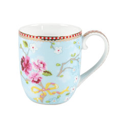 Pip Studio Home - Pip Studio Home Chinese Rose Porcelain Mug, Set of 6 -