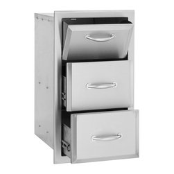 Summerset - Alturi Towel/2-Drawer Combo - #304 Stainless Steel Construction