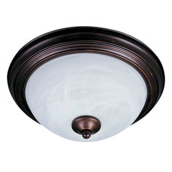 Maxim Lighting - Maxim Lighting 1940 Outdoor Flush Mount - 1 Bulb, Bulb Type: 60 Watt Incandescent