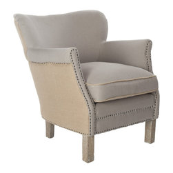 Safavieh - Safavieh Jenny Arm Chair X-F3454RCM - Safavieh Jenny Arm Chair X-F3454RCM