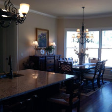 Traditional Dining Room by Dream With Jeannie