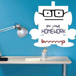 Dry Erase Wall Decals - These are the best Dry Erase Decals available on the market. They are easy to install. Simply peel and stick.