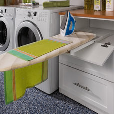 Transitional Laundry Room by transFORM | The Art of Custom Storage