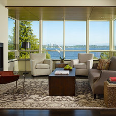 Contemporary Living Room by NB Design Group, Inc