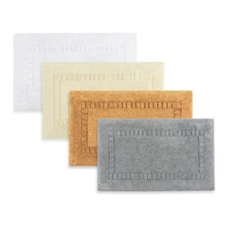 Kassatex - Kassatex Silk 20-Inch x 32-Inch Bath Rug - Dress your bathroom floor with the Kassatex Silk Bath Rug. With unbeatable quality, incredible absorption, and superior softness, the plush cotton rug has a touch of silk to create its luxurious texture, perfect for any bathroom.