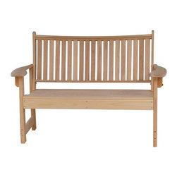 Fifthroom - 4' Cypress Royal Garden Bench -