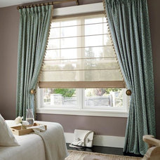 Eclectic Window Treatments by Id9 Center