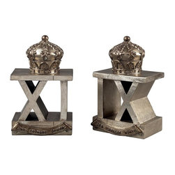 Sterling Industries - 3Rd Cavalry Bombay Bookends - 3Rd Cavalry Bombay Bookends