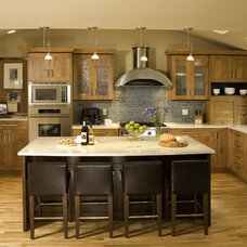 Contemporary Kitchen by Riddle Construction and Design