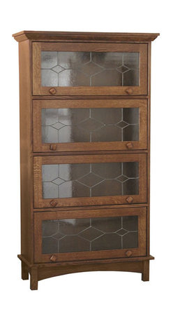 Mission Barrister Bookcase - Amish Direct Furniture offers Nationwide Shipping at the Best Prices. Furniture can be Customized by Wood, Stain Color, and Other Styles. See Our Entire Variety of Custom-Made Furniture on Our Site!