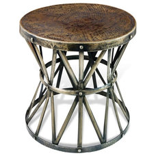 Industrial Side Tables And End Tables by Kathy Kuo Home