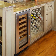 Traditional Wine Racks by Heartwood Kitchens