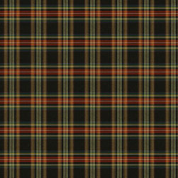 Field Jacket Plaid Fabric, Vintage Black - Inspired by my favorite Barbour Field jacket, this plaid fabric by Ralph Lauren would be lovely in the family den.