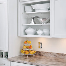 Aristokraft Wall Open Cabinet - Open cabinets are on trend right now, and for good reason. Give your kitchen an open, easy look and keep frequently used items close at hand.