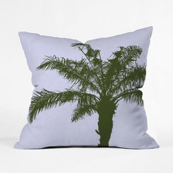 Wild Palm Tree Pillow Cover - Add a pop of visual interest to any space with this throw pillow cover. Featuring a double-sided print with a concealed zipper, it will add a sunny disposition to any room. Toss one on a couch, chair, or bed for a comfy cozy splash of design.