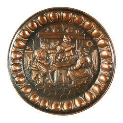 EuroLux Home - Large Consigned Vintage Flemish Renaissance Copper - Product Details