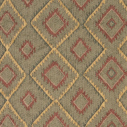 P5197-Sample - This southwest chenille upholstery fabric is great for all indoor upholstery applications. This material is uniquely soft, durable and made in America! Any piece of furniture will look great upholstered in this material.