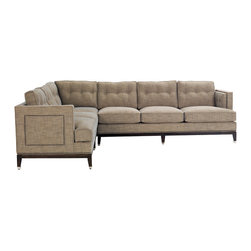 Vanguard Furniture - Vanguard Furniture Whitaker Left Corner Sofa C18-LCS - Vanguard Furniture Whitaker Left Corner Sofa C18-LCS