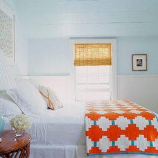 Eclectic  Leslie Klotz bedroom