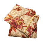 raziascloset - Amaryllis 100% Cotton Flat Bed Sheet Set - 100% Cotton Flat bed sheet set with two sided frills and 2 Pillow cases with 4 sided frills. Queen size