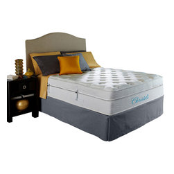 """Christeli - Briella 13.5"""" - Size: Twin Mattress - Mattress only is being sold. Accessories not included."""