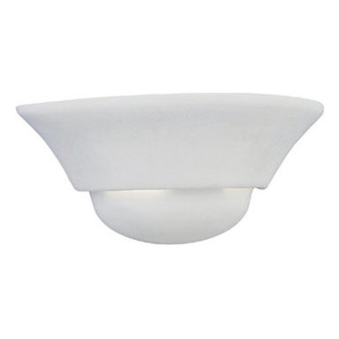 Designers Fountain - Designers Fountain 6031-WH 1 Light Wall Sconce with Paintable Ceramic - Features: