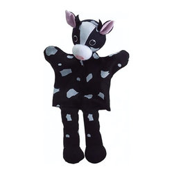 """The Original Toy Company - The Original Toy Company Kids Children Play Cow - Take a bow our hand puppets are exciting, interactive, for story telling, role play or just plain fun. Made of cotton material. Size: 14"""" x 7"""" Ages: 1 plus. Made in China. Weight: 1 lbs."""