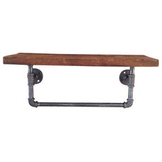 Industrial Towel Bars And Hooks by Industrial Lightworks