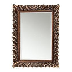 Kichler Lighting - Kichler Lighting Quill Traditional Mirror X-16187 - Kichler Lighting Quill Traditional Mirror X-16187