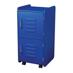 "KidKraft - Kidkraft Home Indoor Kids Toys Books And Clothes Storage Medium Locker - Blue - Our Medium Locker is the perfect way to keep rooms tidy. This durable locker would look great in any child's room and can help kids organize everything from their favorite toys to important school supplies. Dimension: 13.75""Lx 15""Wx 29.5""H"