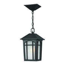 Hinkley Lighting - Hinkley Lighting 1982-LED 1 Light LED Outdoor Lantern Pendant Cedar Hil - Single Light LED Outdoor Lantern Pendant from the Cedar Hill CollectionFeatures: