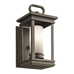 Kichler Lighting - Kichler Lighting 49474RZ South Hope 1 Light Outdoor Wall Lights in Olde Bronze - This 1 light Outdoor Wall Lantern from the South Hope collection by Kichler will enhance your home with a perfect mix of form and function. The features include a Olde Bronze finish applied by experts. This item qualifies for free shipping!