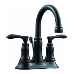 DHI-Corp - Madison 4-Inch Lavatory Faucet, Oil Rubbed Bronze - The Design House 525832 Madison 4-Inch Lavatory Faucet features a dual handle design, 4-inch mount and 50-50 pop-up for sealing your drain. This faucet's body is made of brass and the handles are made of zinc alloy. Finished in oil rubbed bronze, this faucet is refined and elegant with a ceramic disc cartridge and brass waterways. The brass waterways contain zinc and copper which are known to prevent antimicrobial growth ensuring safe and clean water for your family. Compared to the 1-5 year lifespan of traditional faucets, ceramic disc faucets can last up to 30 years and provide ultimate protection against corrosion to the water valve. The 2-gallon per minute flow rate ensures a steady water flow after years of everyday use and the high vaulted spout extends 4.8-inches which leaves plenty of room for washing your hands. This faucet has a quarter turn stop lever handle operation and is UPC, ADA, Ab-1953, and lead-free and cUPC compliant. The Design House 525832 Madison 4-Inch Lavatory Faucet comes with a lifetime limited warranty that protects against defects in materials and workmanship. Design House offers products in multiple home decor categories including lighting, ceiling fans, hardware and plumbing products. With years of hands-on experience, Design House understands every aspect of the home decor industry, and devotes itself to providing quality products across the home decor spectrum. Providing value to their customers, Design House uses industry leading merchandising solutions and innovative programs. Design House is committed to providing high quality products for your home improvement projects.