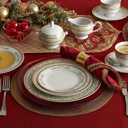 Holiday Dinnerware - Bring festive and elegant touches to your