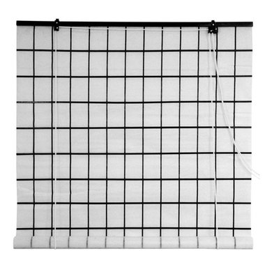 Oriental Furniture - Tatami Shoji Blinds - (24 in. x 72 in.) - Evoke the classical refinement of Japanese style with our Tatami Shoji Blinds. Combine the look of traditional Shoji with the convenience of a roll-up blind. This shoji paper blind will meet many of your decorating needs.