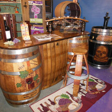 Traditional Bar Tables by Wine Design, LLC