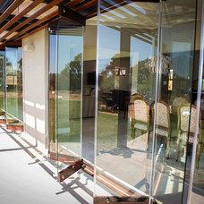 Rustic Screen Doors by Van Acht Wooden Windows and Doors