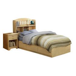 South Shore - South Shore Newton Kids Twin Wood Mates Storage Bed 3-Piece Bedroom Set - South Shore - Bedroom Sets - 2713PKG