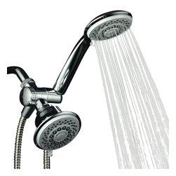 Aquastorm by HotelSpa® - Aquastorm by HotelSpa® 30-setting SpiralFlo 3-way Luxury Shower Combo - Aquastorm by HotelSpa® 30-setting SpiralFlo 3-way Luxury Shower Combo (Chrome)