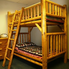 Traditional Kids Beds by moonvalleyrustic.com