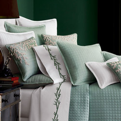 """""""Ready-to-Bed"""" Quilted Silk Bed Linens -"""