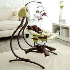 Contemporary Baby Swings And Bouncers by Hayneedle