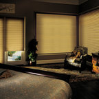 Blackout Window Treatments - Most shades, blinds or curtains allow some type of light through when they are closed which can be very frustrating, especially if you're trying to take a nap or enjoying a movie in a home theater.  Or with the kids being back in school, it's sometimes hard to get them to bed early with the evening light shining in the room.