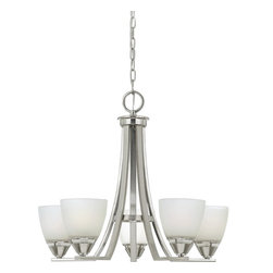 Quoizel Lighting - Five Light Up Lighting ChandelierIbsen Collection - For over seventy years, Quoizel lighting has been dedicated to the design and production of its diversified line of fine lighting products and home accessories.
