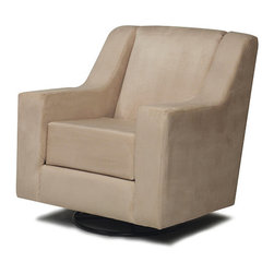 Rock-A-Bye Adult Beige Micro Maybury Glider - I'm not sure how comfortable this one is, but I like the price and the modern shape.
