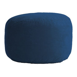 Comfort Research - Comfort Suede Blue Sky 3.5 Ft Medium Fuf Chair - All it takes is one sit to understand exactly why our one-of-a-kind Fuf Collection has brought bean bags out of your grandparent's dusty basement and into college campuses, bedrooms and living rooms around the world. With all sorts of sizes and colors available, all perfectly filled with our patented memory foam, the hardest part about sitting down on any Fuf is convincing yourself it's time to get up. Please note this item requires an additional shipping timeline of 10-14 days.