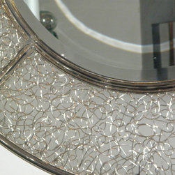 Bali Gates and Metalworks - Stainless mirror (backlighted) made in Bali by katy brady