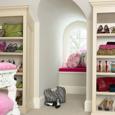 Closet by Martha O'Hara Interiors Showroom