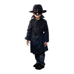 Aeromax Jr. Secret Agent - No mission is impossible while wearing the Aeromax Jr. Secret Agent. This costume comes with all the bells and whistles to let your junior secret agent deep things on the down low. It includes a double-breasted trench coat felt fedora three moustaches and dark glasses. This secret agent kit is designed for girls or boys and comes in Large or Small for kids 5 to 11 years. About Aeromax Toys Inc.Based in Barrington Illinois Aeromax Toys specializes in imaginative dress-up outfits and accessories for kids. From their Get Real gear to Kids Safari outfits they inspire kids' imaginations. Some of the many awards Aeromax Toys has won over the years include awards from Nick Jr. iParenting Media Early Childhood News Awards and more. Aeromax Toys is a proud member and supporter of American Specialty Toy Retailing Association (ASTRA) and Toy Industry Association (TIA).